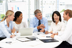 Free Business Meeting In An Office Royalty Free Stock Images - 19901619