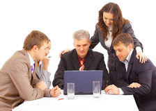 Business meeting - manager discussing Stock Photography