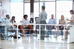 Business meeting in a modern office Royalty Free Stock Photo