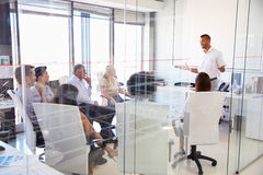 Business meeting in a modern office Royalty Free Stock Photography