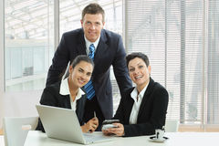 Business meeting at office Stock Image
