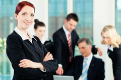 Business - meeting in an office Royalty Free Stock Image