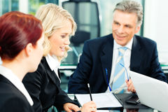 Business - meeting in an office Royalty Free Stock Images