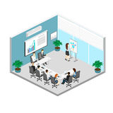 Business meeting in an office Business presentation meeting in an office around a table. Royalty Free Stock Photo
