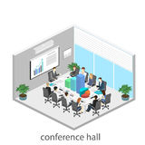 Business meeting in an office Business presentation meeting in an office around a table. Royalty Free Stock Image