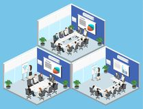 Business meeting in office Business presentation meeting in an office. Business meeting in an office Business presentation meeting in an office around a table Stock Image