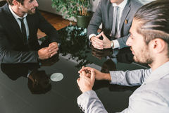 Business meeting in the office Stock Photos