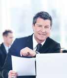 Business meeting in office Royalty Free Stock Images
