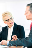 Business - meeting in office Royalty Free Stock Photo