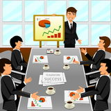 Business meeting in an office. Royalty Free Stock Photo