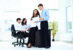 Business - meeting in office Stock Images