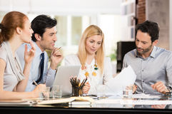 Business meeting at office Stock Photos