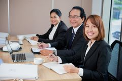 Business meeting royalty free stock photos