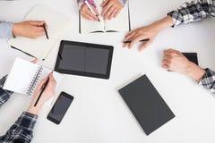 Business meeting in progress Stock Image