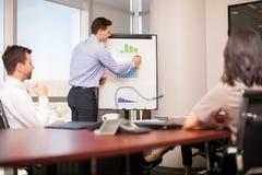 Business meeting in progress Stock Photo