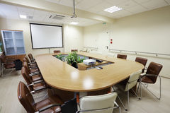 Business meeting room Stock Image