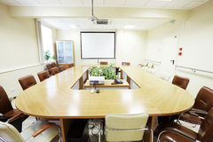 Business meeting room Royalty Free Stock Photos