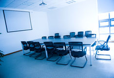 Business meeting room interior Stock Photo