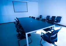 Business meeting room interior Royalty Free Stock Photography