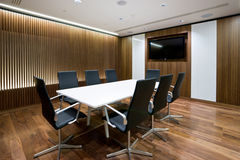 Business meeting room in office Stock Image