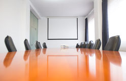 Business meeting room in office Stock Images