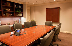 Business Meeting Rooms with Shelves Stock Photography