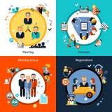 Business Meeting Set Stock Image