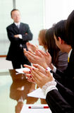 Business meeting success Stock Images