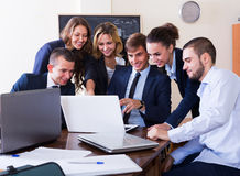 Business meeting of successful team Stock Photography