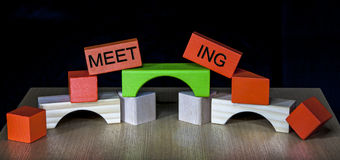Business Meeting - Team Building Royalty Free Stock Images