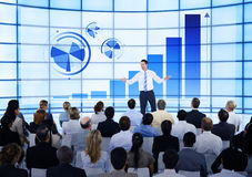 Business Meeting Team Information Analysis Concept Stock Photo