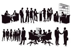 Business meetings and presentation Stock Images