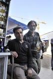 Business men in bazza, Shiraz Iran stock image