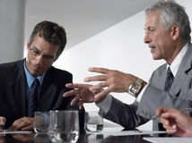 Business Men In Conference Room Stock Photos