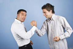Business men confrontation Royalty Free Stock Photography