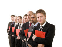 Business men with documents Stock Photo