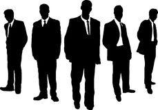 Business men gangster Stock Photo