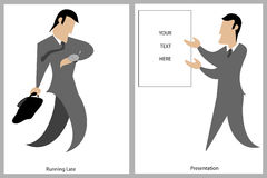 Business Men Graphics Stock Photo