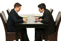 Business men having meeting Royalty Free Stock Photography