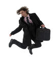 Business men jumping ! ! Stock Photo