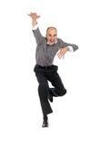 Business men jumping Royalty Free Stock Image