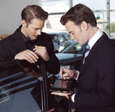 Business men with laptop n Stock Photos