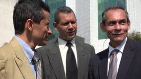Business Men. Older and hispanic business men Royalty Free Stock Photo