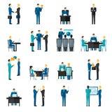 Business Men Set Stock Image