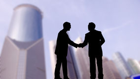 Business men shaking hands Stock Photo