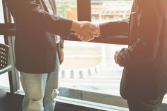Business men shaking hands, Royalty Free Stock Photo