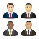 Business men various nationalities Stock Image