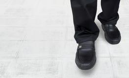 Business men walk come in Stock Photos
