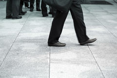 Business men walking Stock Image