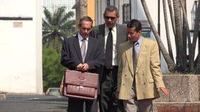 Business Men Walking. Stock photo of business men Stock Image